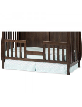 Child Craft Toddler Guardrail for Camden Convertible Crib, Slate