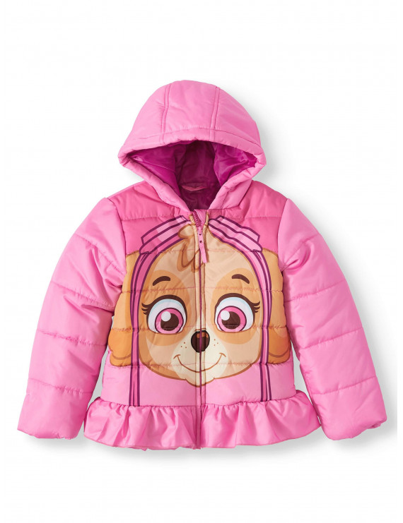 Paw Patrol Toddler Girl Skye Winter Jacket Coat
