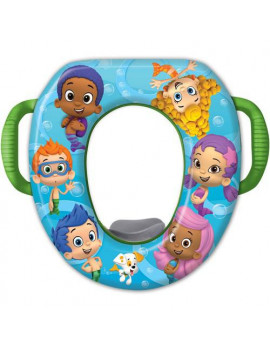 "Bubble Guppies ""Fintastic"" Soft Potty Seat with Potty Hook"
