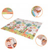 Foldable Play Mat ? Large Tummy Time Folding Reversible Baby Mats For Playroom