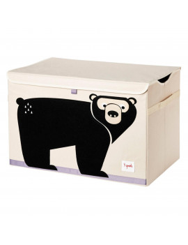 3 Sprouts Bear Toy Chest