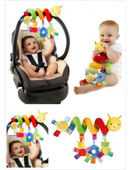 Activity Spiral Stroller Car Seat Lathe Hanging Bed Around Toys Baby Rattles Toy