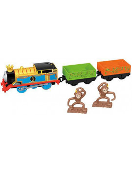 Thomas & Friends Fisher-Price Trackmaster, Monkey Mania Thomas Toy, Multicolor