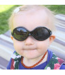 Baby Boy Sunglasses With Strap 100% UV Block (S: 6- 24 months, Blue)
