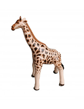 Inflatable Giraffe Zebra Safari Animal Toy Party Gift Kids (GIRA3+ZEB3)