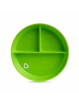 Munchkin Stay Put Green Suction Plate