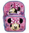 "Minnie Mouse Backpack 16"" and Detachable Insulated Lunch Bag 2Pc I Believe in Me"