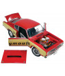 1968 Plymouth Barracuda Super Stock Test Mule Red & Yellow Limited Edition to 462 pieces 1/18 Diecast Model Car by ACME