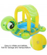 YLSHRF Swimming Rings,Baby Inflatable Swim Floats Ride Cartoon Animal Safe Toys Accessories, Swim Floats