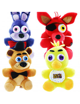 """Five Nights At Freddy's 10"""" Plush Set of 4"""