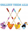 Radical Racers Top Duck Wooden Push-Along Walking Toy by, TOP DUCK: Let's get racing! Kick the fun into overdrive with this mettlesome mallard, Top Duck By Imagination Generation