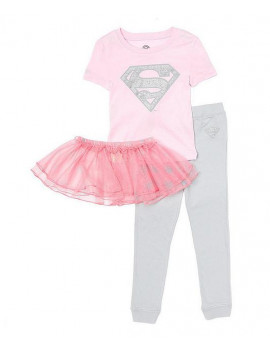 DC Comics Supergirl Tutu Costume Pajama Set