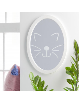 Cat Face Mirror by Drew Barrymore Flower Kids
