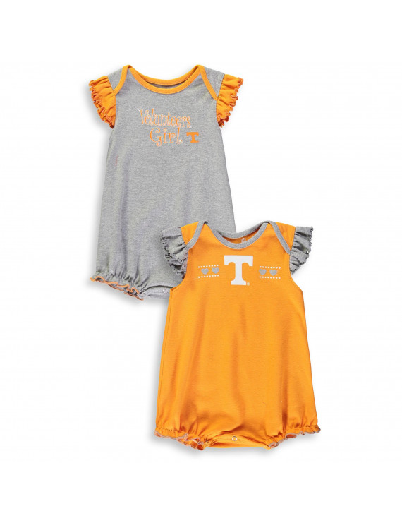 Tennessee Volunteers Vols UT Creeper 2 Pack Homecoming Bodysuit Set