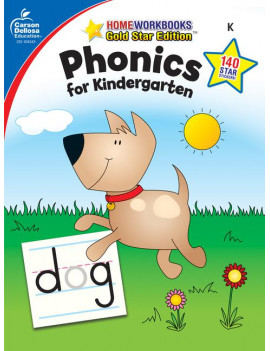 Phonics for Kindergarten, Grade K : Gold Star Edition