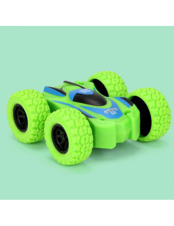 AkoaDa Creative Inertia Climbing Car Model Double-Sided Driving Off-Road Car Model Toy Mini Plastic Body Resistant to Falling Bright Colors Suitable for Children's Birthday Gifts