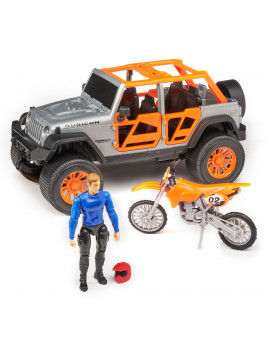 Adventure Force Jeep with Bike Accessory