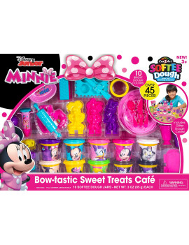 Cra-Z-Art Disney Junior Softee Dough Minnie Mouse Bow-tastic Sweet Treats Cafe