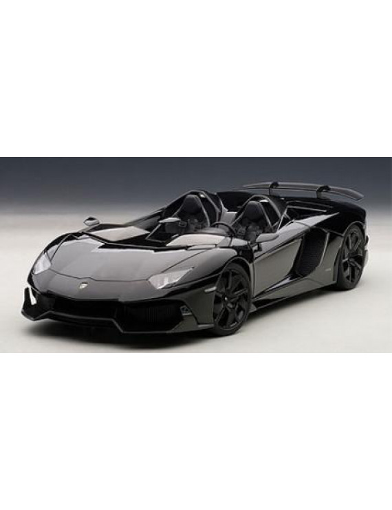 Lamborghini Aventador J Black 1/18 Diecast Car Model by Autoart