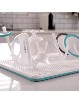 Nanobebe Baby Bottles, Infant Sippy Cups and breast pump accessories Drying Rack