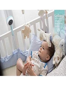 Lollipop Smart Baby Monitor HD WiFi & Wall Mount