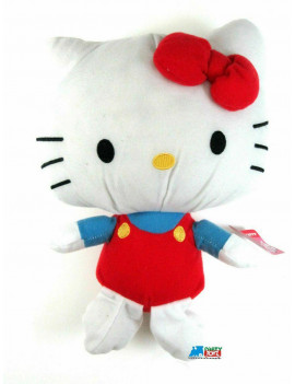 "Hello Kitty Small 7"" Plush Toy - Red"