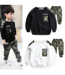 Pudcoco Sport Suit Fort Nite Boy Sets Winter Camouflage Kids Teenager Clothing