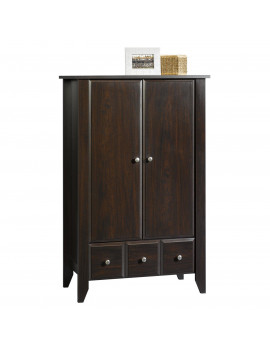 Child Craft Shoal Creek Armoire, Chocolate Brown