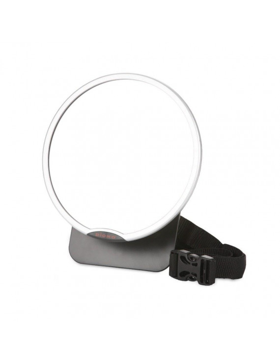 Diono Easy-View Back Seat Mirror - Silver