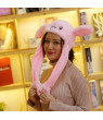 KABOER Cute Plush Moving Rabbit Airbag Ear Hat Dancing Bunny Ears Cartoon Animal Plush Toys For Women Girls Toys