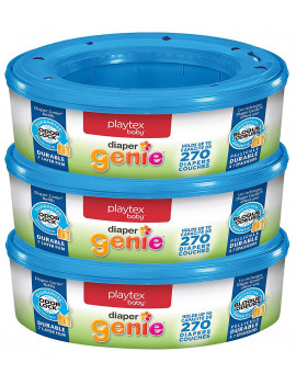 Diaper Genie Refill - 3 pk, Compatible with ALL Diaper Genie Pai By Playtex