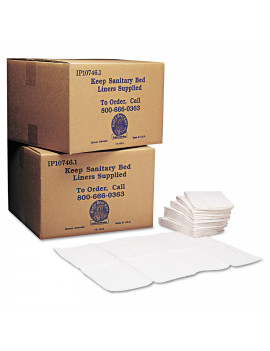 Koala Kare Baby Changing Station Sanitary Bed Liners, White, 500 count