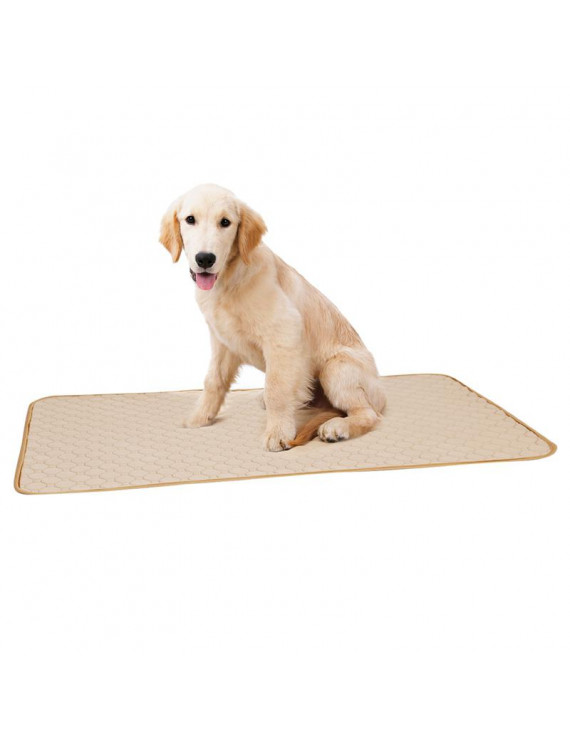 Dog Training Pad Waterproof Urine Absorbent Reusable Protection Diaper Mat