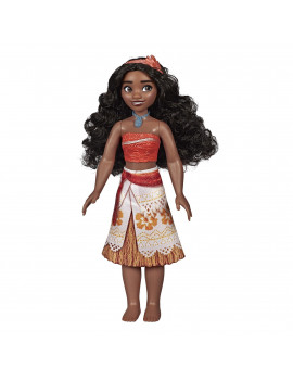Disney Princess Moana with Skirt That Sparkles, Headband, Necklace