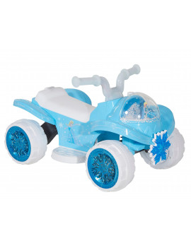 6 Volt Frozen Quad Ride-On with Custom Snow Globe by Dynacraft