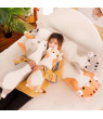Cute Cartoon Cat Shaped Doll Toy Plush Toy Sleeping Long Throw Pillow Decorative Gift