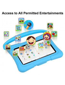 Kids Tablet, 7 Inch Android 9.0 Tablet for Kids, 2GB +32GB, Kid Mode Pre-Installed, WiFi Android Tablet, Kid-Proof Case
