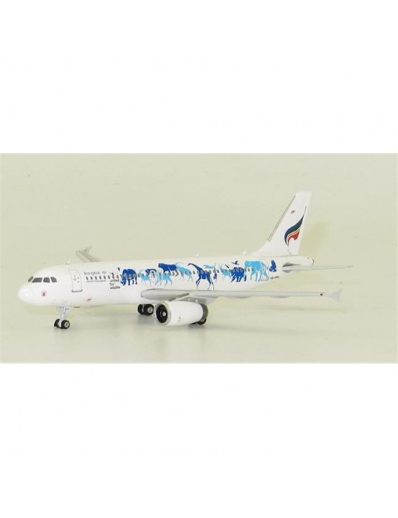 Phoenix PH1801 Bangkok A320 1-400 United Wildlife Fund Reg No. HS-PPH Die Cast Airplane Model
