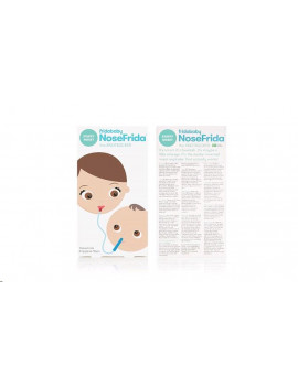 Baby Nasal Aspirator NoseFrida the Snotsucker with 20  Hygiene Filters