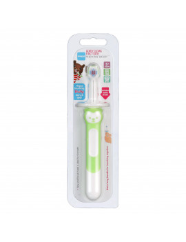 MAM Training Toothbrush for Babies, Training Brush Baby Toothbrush, Unisex, 5+ Months, 1-Count