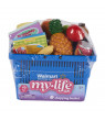 """My Life As Shopping Basket Play Set for 18"""" Dolls, 16 Pieces"""