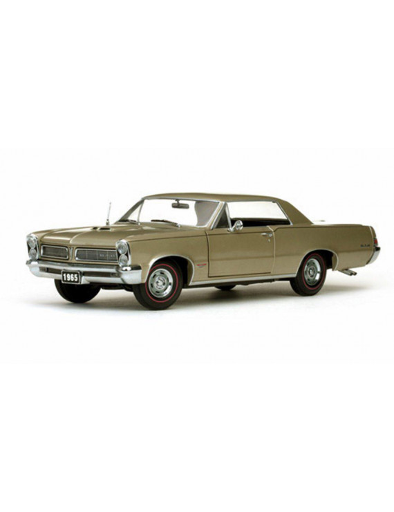 1965 Pontiac GTO, Gold - Sun Star 1809 - 1/18 Scale Diecast Model Toy Car