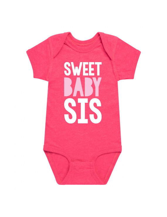 Sweet Baby Sis - Baby One Piece