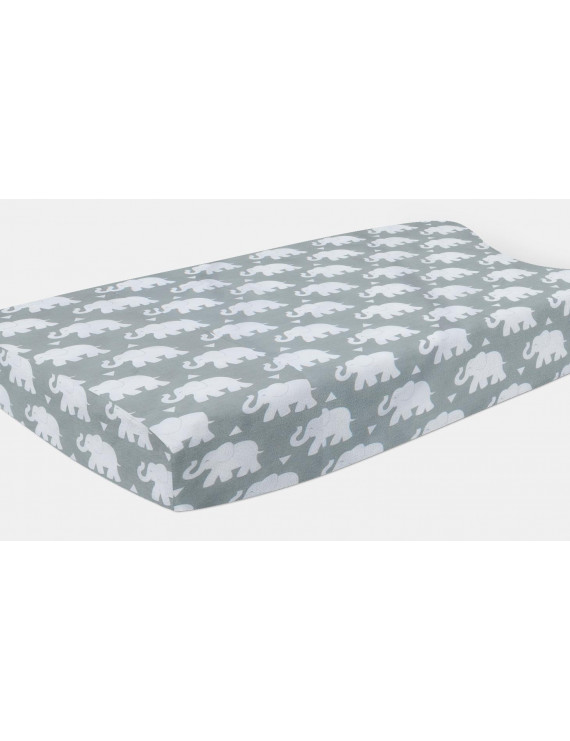 Pam Grace Creations Indie Elephant Changing Pad Cover