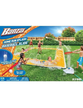 BANZAI 14ft x 14ft Homerun Splash Baseball Slide