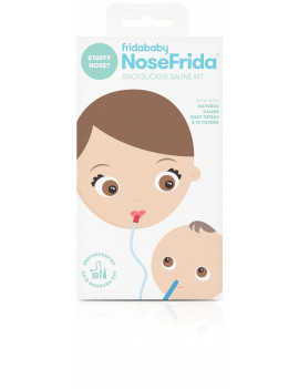 NoseFrida the Snotsucker Saline Kit