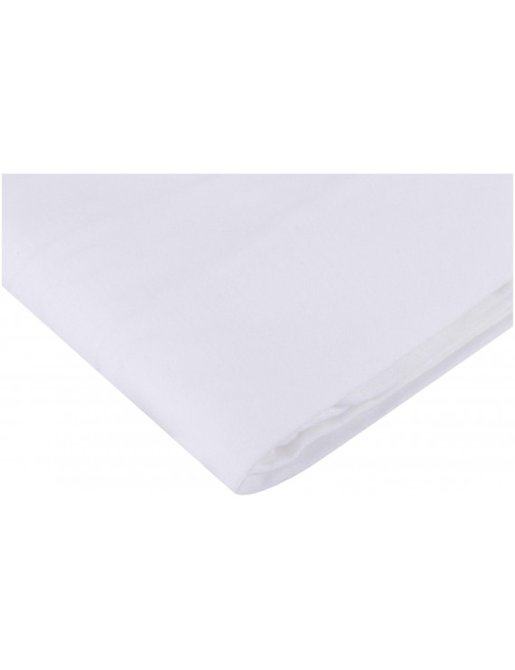 TL Care 100% Natural Cotton Value Jersey Knit Fitted Cradle Sheet, White, Soft Breathable, for Boys and Girls