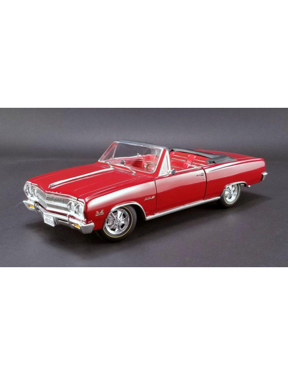 1965 Chevrolet Malibu Chevelle SS Z16 Convertible Red Fact or Fiction? Ltd Edition to 390 pieces 1/18 Diecast by Acme