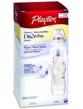 6 Pack - Playtex Drop-Ins Disposable Liners 8-10-Ounce 100 ea