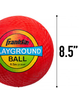 """Franklin Sports 8.5"""" Inflated Playground Ball - Assorted Colors"""